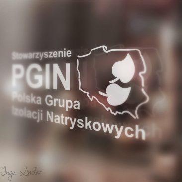 Logo Stowarzyszenia Polska Grupa Izolacji Natryskowych