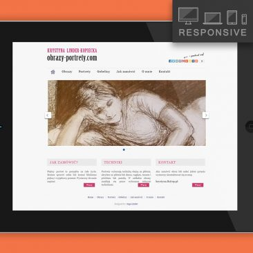 Strona – portfolio malarki
