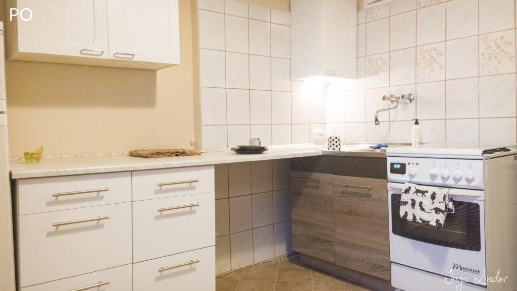Remont mieszkania na wynajem - kuchnia po
