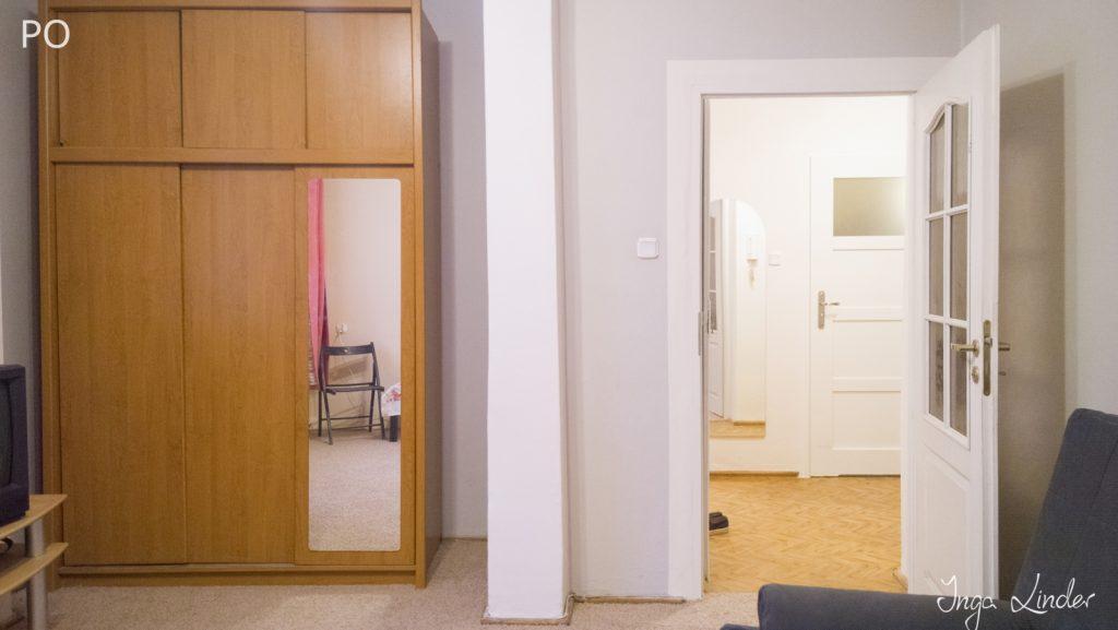 Remont mieszkania na wynajem - pokój i przedpokój