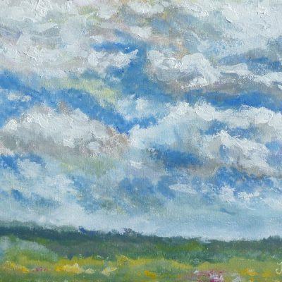 Niebo w Filipowie - obraz akrylowy Inga Linder