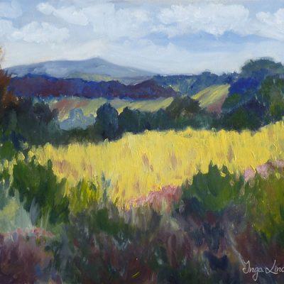 Lipowiec - obraz olejny - Inga Linder