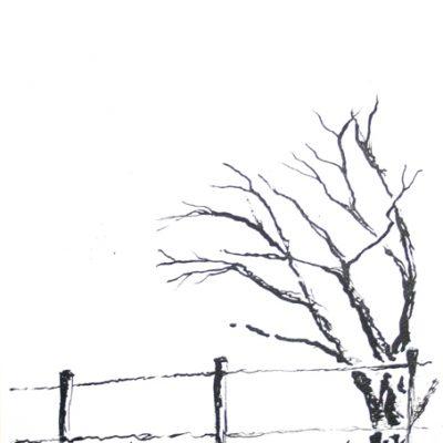 Drzewo - tusz Inga Linder
