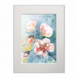 Kwiaty - akwarela na sprzedaż Inga Linder-Kopiecka