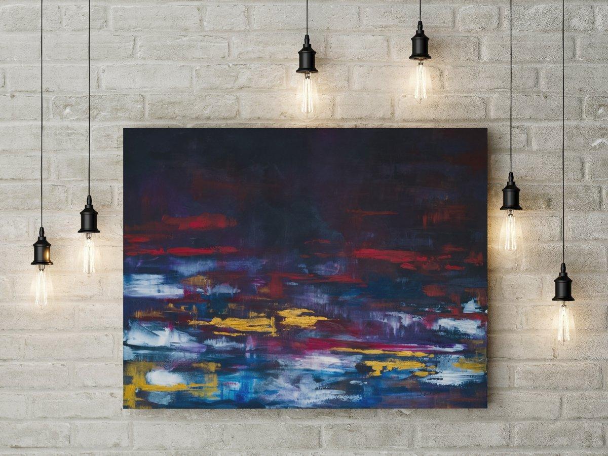 Abstrakcja - obraz olejny