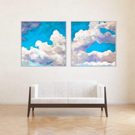 chmury-dyptyk-obrazy-olejne-Inga-Linder