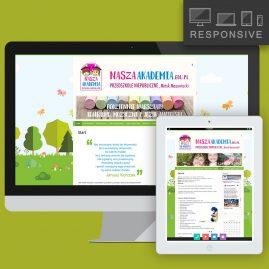 Strona internetowa przedszkola